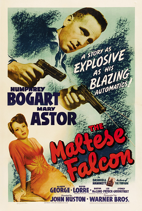 "Movie poster image for ""THE MALTESE FALCON"""
