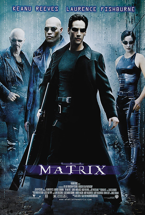 """Movie poster image for """"THE MATRIX """""""