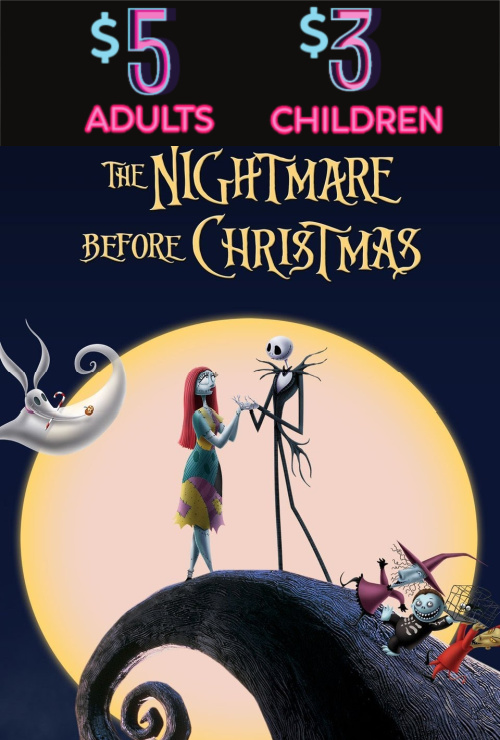 Movie poster image for THE NIGHTMARE BEFORE CHRISTMAS