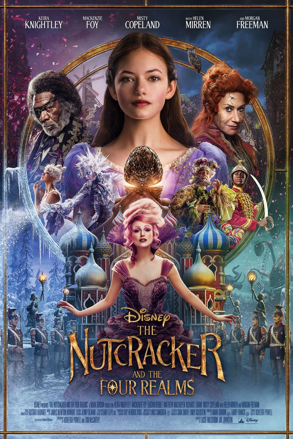 "Movie poster image for ""THE NUTCRACKER AND THE FOUR REALMS"""