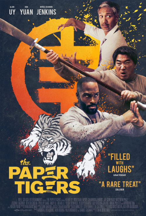 Movie poster image for THE PAPER TIGERS