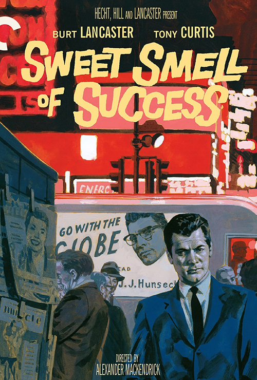 """Movie poster image for """"SWEET SMELL OF SUCCESS"""""""