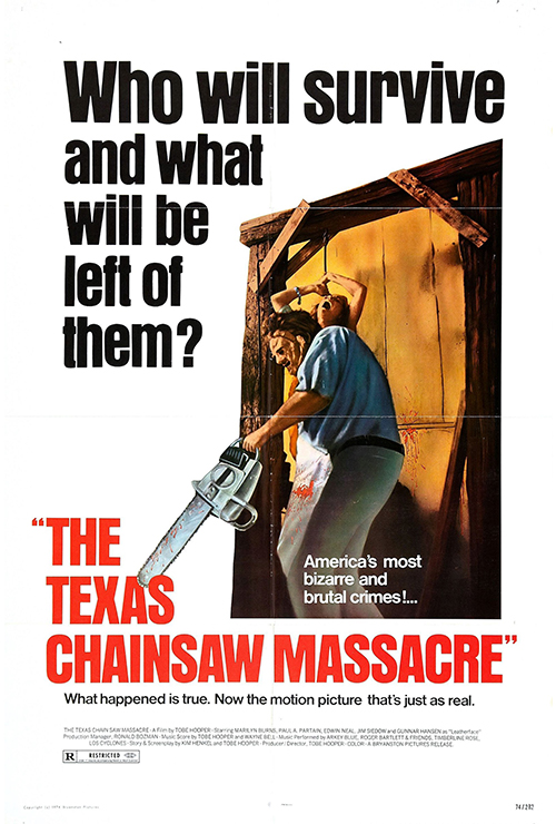 "Movie poster image for ""THE TEXAS CHAINSAW MASSACRE"""