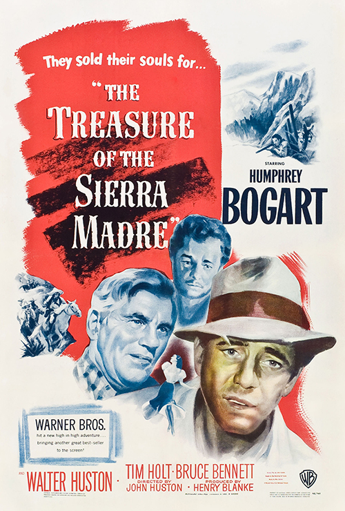 "Movie poster image for ""THE TREASURE OF THE SIERRA MADRE"""