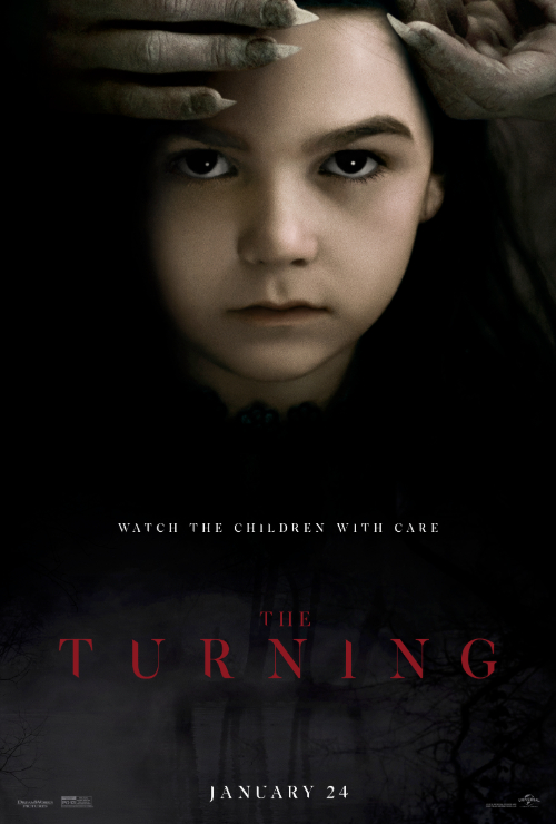 "Movie poster image for ""THE TURNING"""