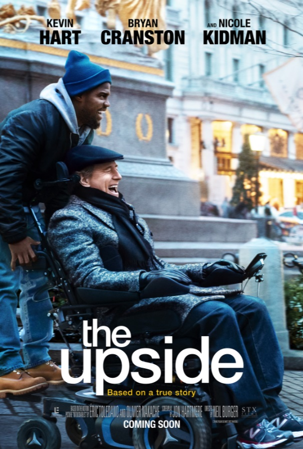 "Movie poster image for ""THE UPSIDE"""