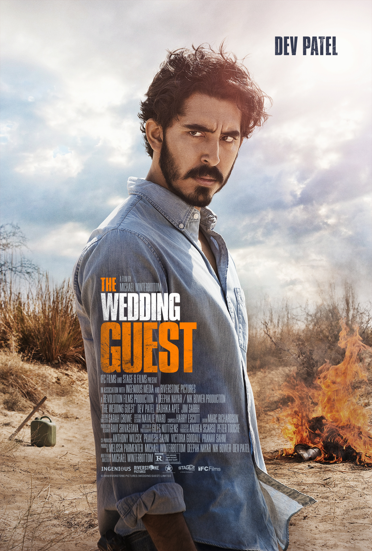 """Movie poster image for """"THE WEDDING GUEST"""""""