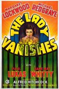 Poster of THE LADY VANISHES - Hitchcocktober