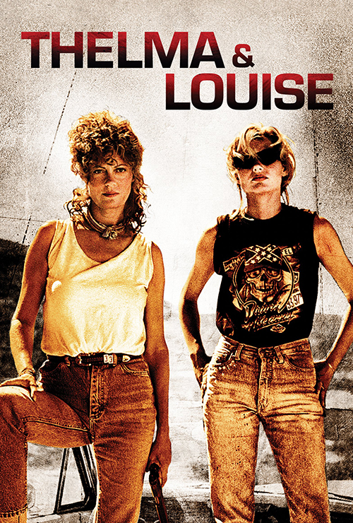 "Movie poster image for ""THELMA & LOUISE """