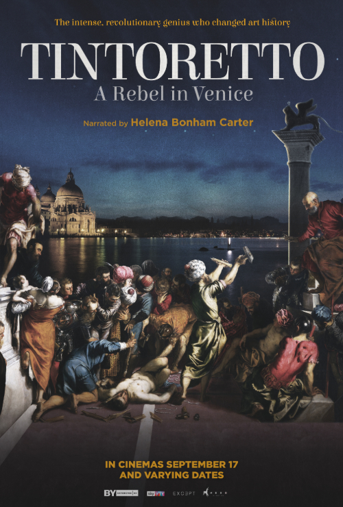"Movie poster image for ""GREAT ART ON SCREEN: TINTORETTO: A REBEL IN VENICE"""