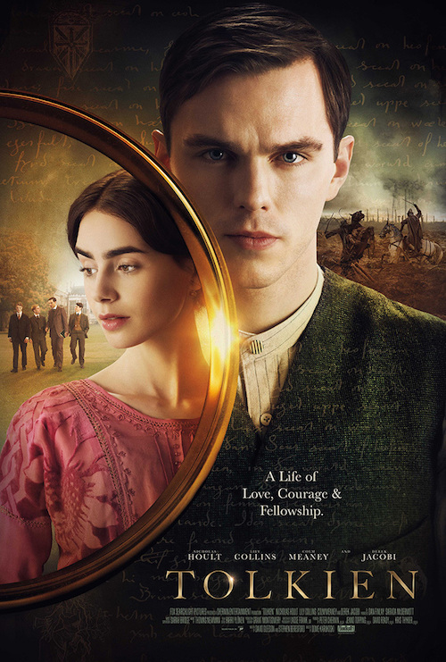 """Movie poster image for """"TOLKIEN"""""""