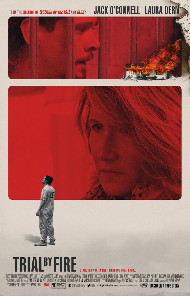 """Movie poster image for """"TRIAL BY FIRE"""""""