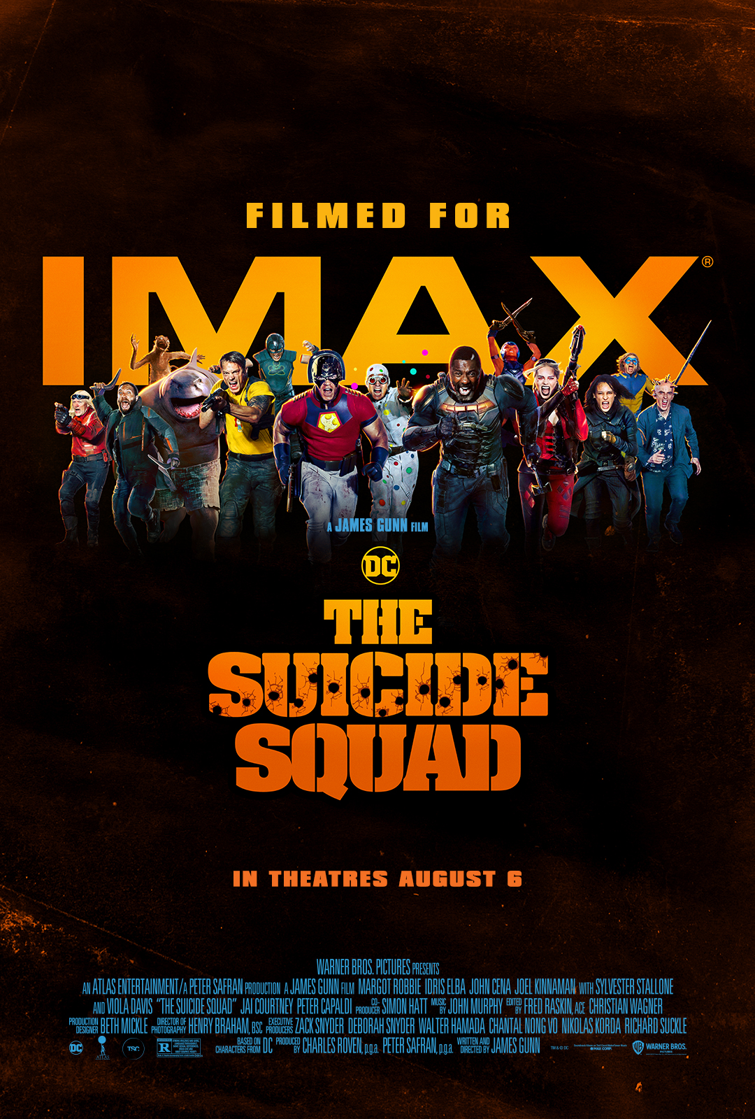 Movie poster image for THE SUICIDE SQUAD in IMAX