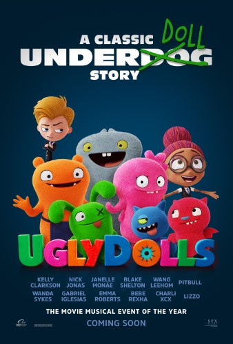 """Movie poster image for """"UGLYDOLLS"""""""