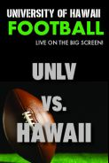 Poster of HAWAII vs. UNLV - UH Football