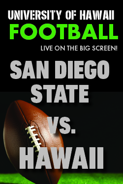 "Movie poster image for ""HAWAII vs. SAN DIEGO STATE  - UH Football"""