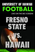 Poster of HAWAII vs. FRESNO STATE - UH Football