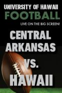 Poster of HAWAII vs. CENTRAL ARKANSAS - UH Football