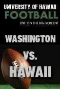Poster of HAWAII vs. WASHINGTON - UH Football