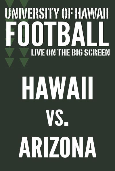"Movie poster image for ""HAWAII vs. ARIZONA - UH Football"""
