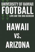 Poster of HAWAII vs. ARIZONA - UH Football