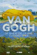 Poster of GREAT ART ON SCREEN: VAN GOGH: OF WHEAT FIELDS AND CLOUDED SKIES
