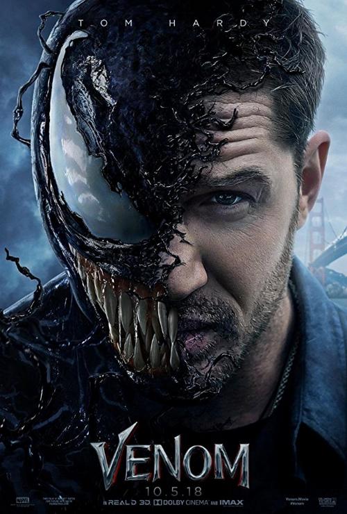 "Movie poster image for ""VENOM"""
