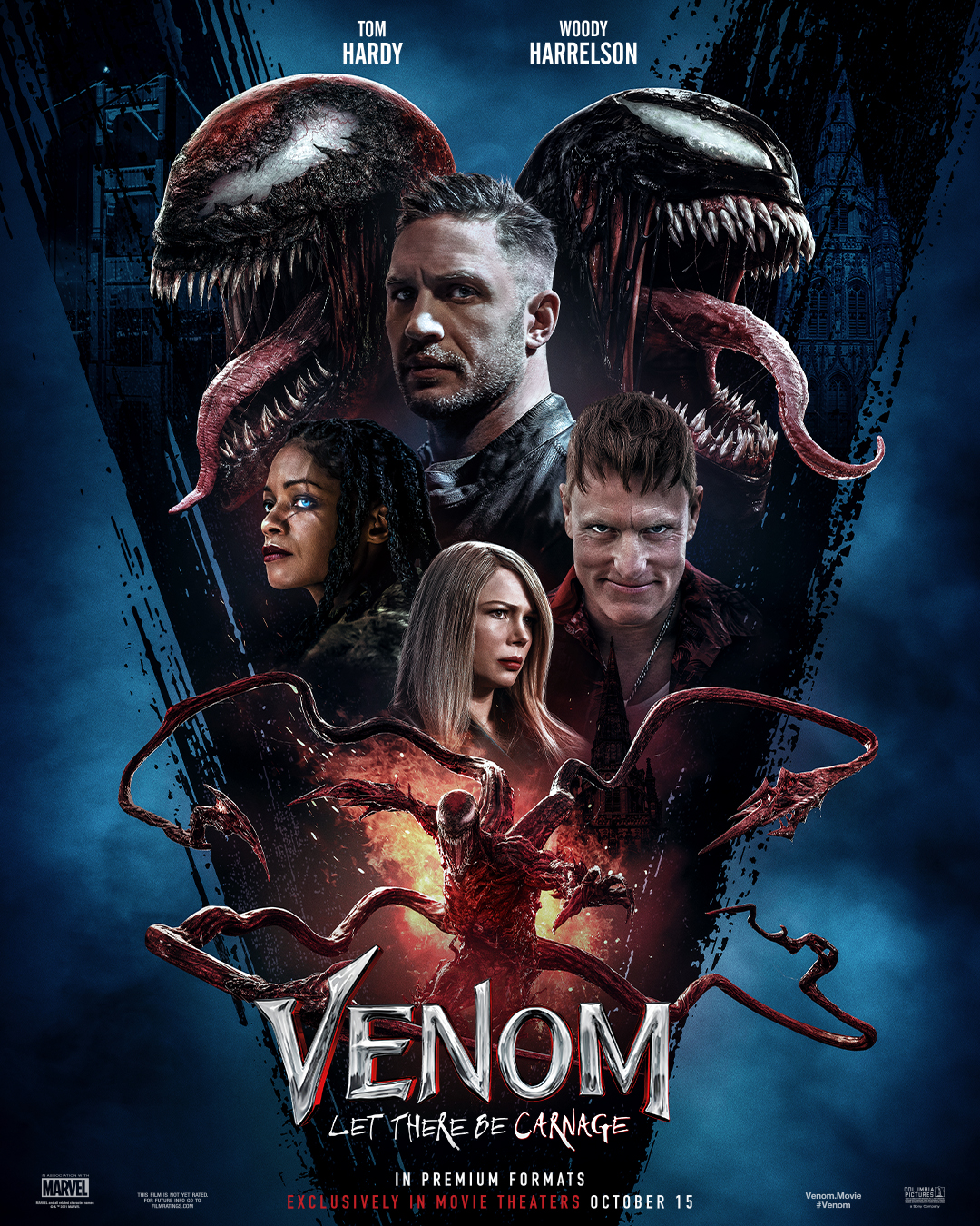 Movie poster image for VENOM: LET THERE BE CARNAGE