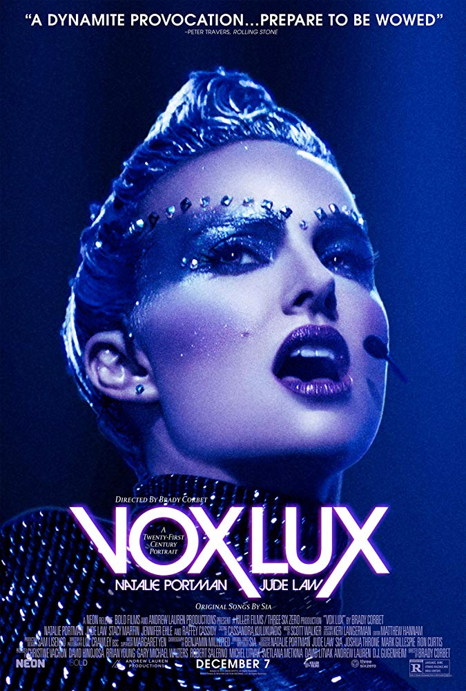 "Movie poster image for ""VOX LUX"""