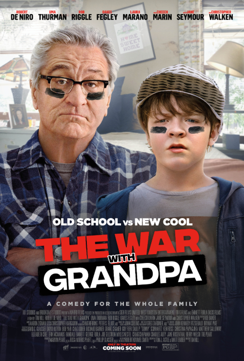 Movie poster image for THE WAR WITH GRANDPA