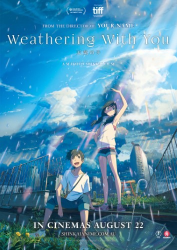 "Movie poster image for ""WEATHERING WITH YOU"""