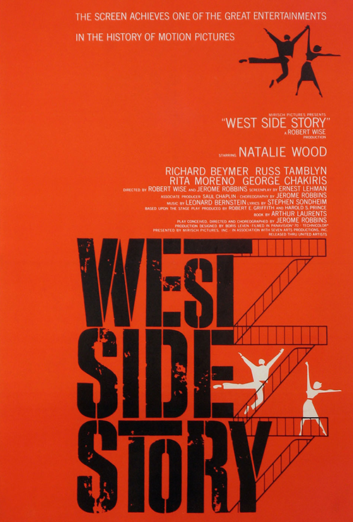 "Movie poster image for ""WEST SIDE STORY"""