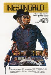 Movie poster image for WESTWORLD in 35MM