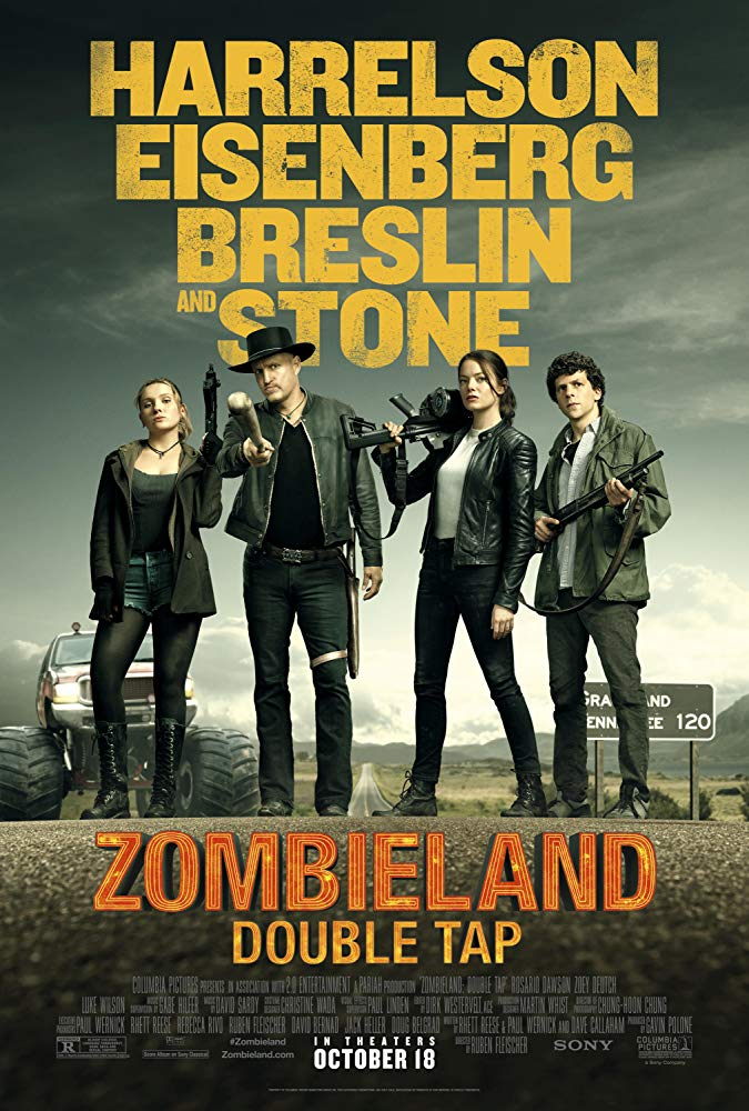 "Movie poster image for ""ZOMBIELAND: DOUBLE TAP"""