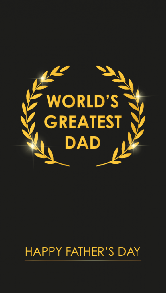 """Image of the """"Father's Day"""" e-gift card design"""