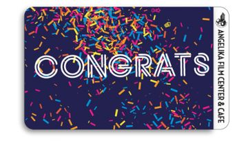 "Image of ""Congratulations"" physical gift card design"
