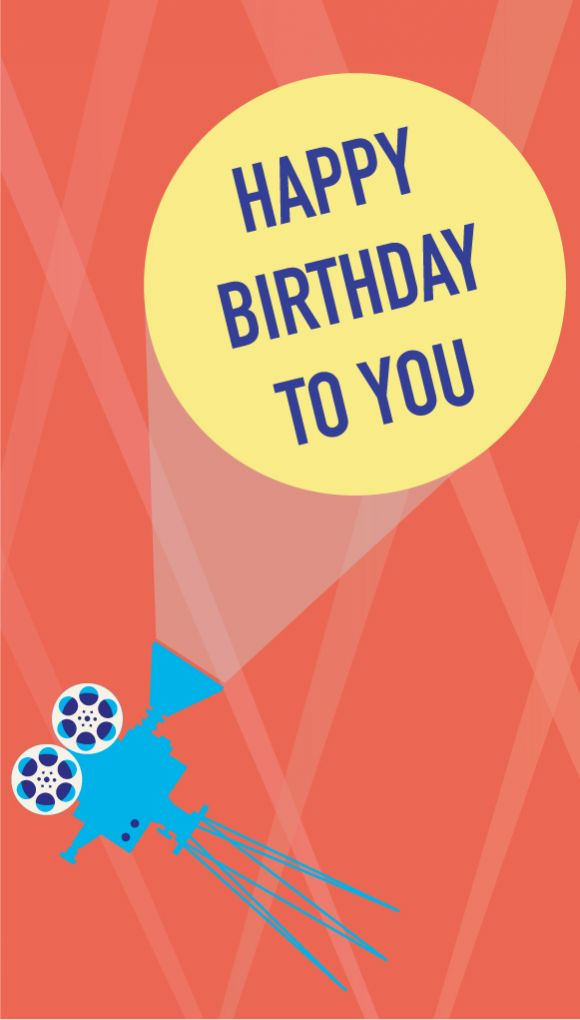 "Image of the ""Birthday"" e-gift card design"