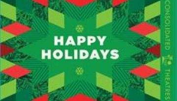 "Image of ""Holidays - Happy Holidays"" physical gift card design"