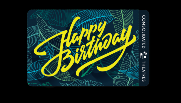 "Image of ""Happy Birthday"" physical gift card design"