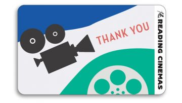 "Image of ""Thank You"" physical gift card design"