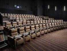 Auditoriums, a type of event space that is offered to host an event in