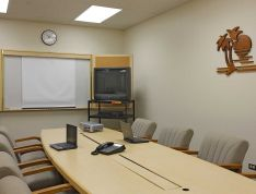 CONFERENCE ROOM, a type of event space that is offered to host an event in