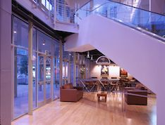 Cafe and First Floor Lobby, a type of event space that is offered to host an event in