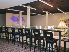 Lounge, a type of event space that is offered to host an event in