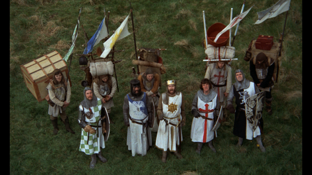 MONTY PYTHON AND THE HOLY GRAIL - Cult Classics