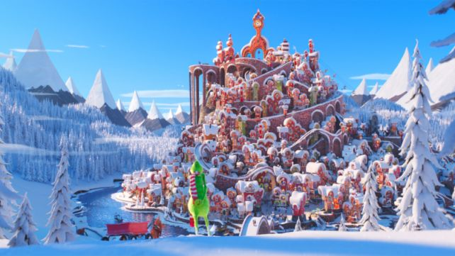 MOVIE WITH SANTA: DR. SEUSS' THE GRINCH