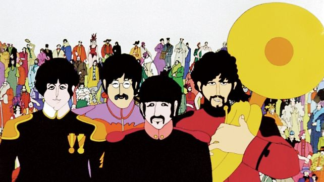 THE BEATLES' YELLOW SUBMARINE
