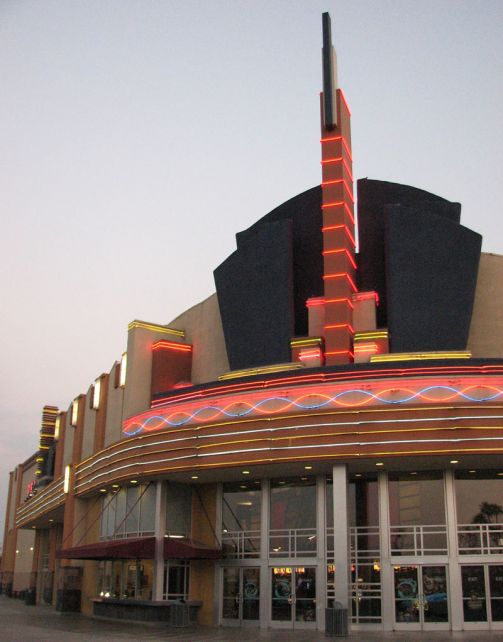 Valley Plaza with IMAX movie theater